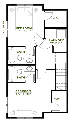 Retreat-Carmine-Upper-2-Bed